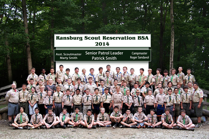 2014 - Troop 318 Scout & Leaders