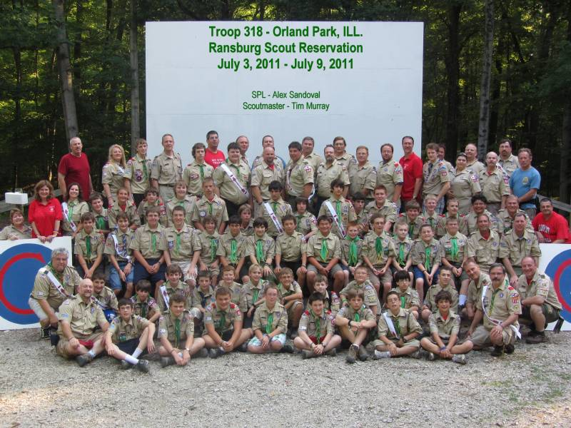 2011 - Troop 318 at Camp Ransburg