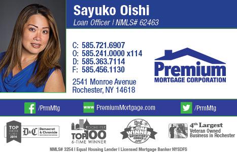 Sayuko Oishi, Premium Mortgage Corp