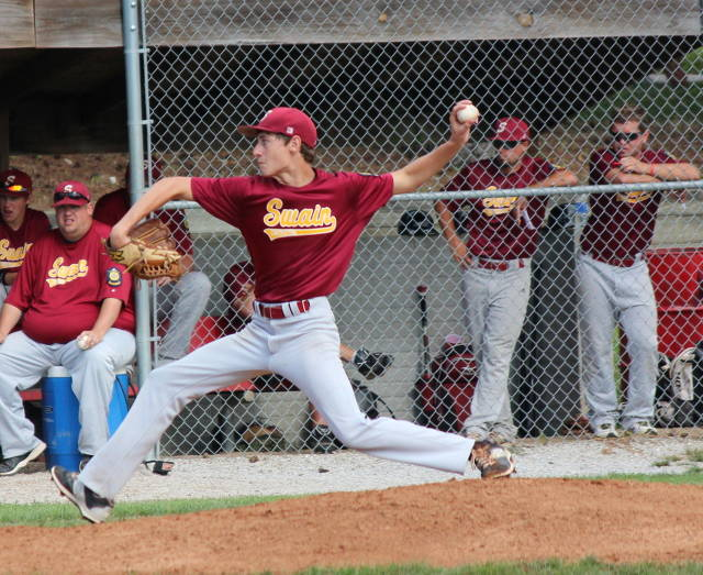 Nick Iossi pitches a 3-hitter