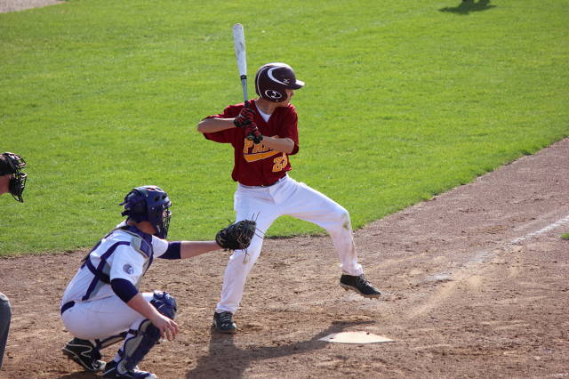 Nolan Chaloupka at the plate