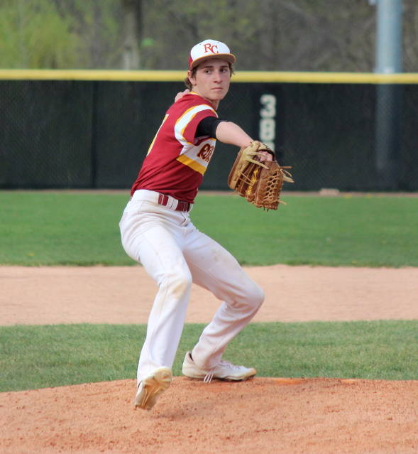 Nick Iossi determined to strike the batter out