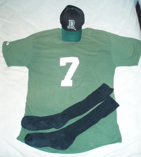 2006 Demons Uniform: Back