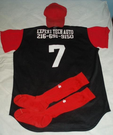 2005 Expert Tech Auto Demons Uniform: Back