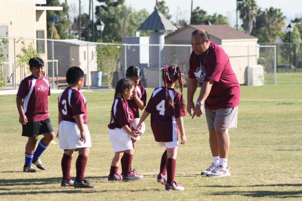 U8s with Coach Heni