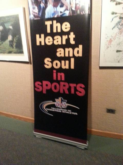The Heart and Soul in Sports - FCA Banner