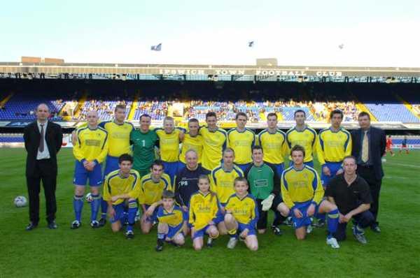 Senior Cup Final Team
