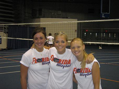 Crissi,Sara and Courtney