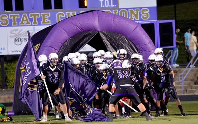 West Stokes Wildcats Football (King, NC) powered by
