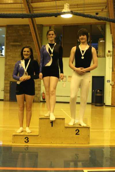 Wiped the boards!!!! Rebecca , Danny & Kirsty take 1st, 2nd & 3rd places in Level F O15 at the Grading Comp in Feb 2010