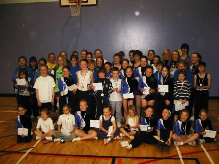Some of the competitors from CETC Schools Championships held at LHSC on Saturday 8th May 2010