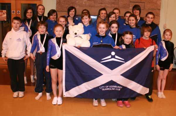 Some of the CETC competitors at the SG Grading Comp in February 2010
