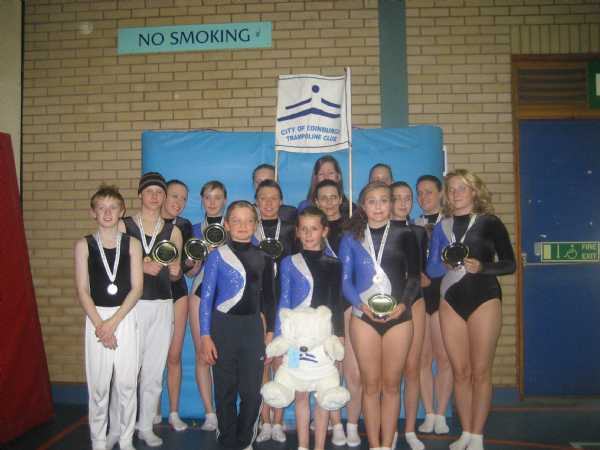 Our fantastic qualifiers at the 2008 SCOTTISH NATIONAL COMPETITION