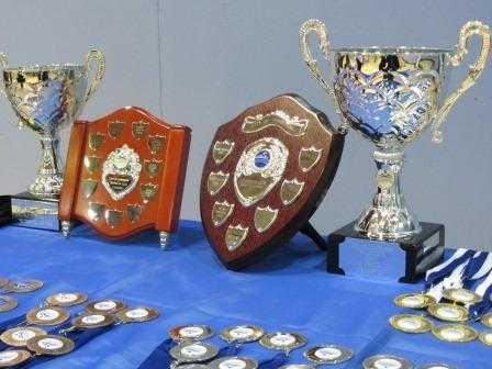 CLUB CHAMPIONSHIPS 2012 TROPHY & MEDAL DISPLAY