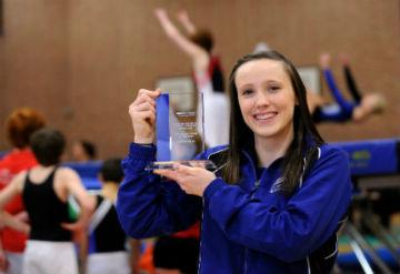 Lauren Millar - winner of Community Coach of the Year Edinburgh Sports Awards 2013