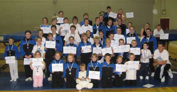 Competitors at CETC CHAMPIONSHIPS 2008 Competition - June 2008