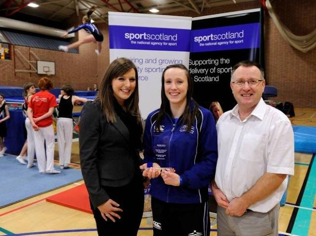 Lauren Millar - Community Coach of the Year 2013 Edinburgh Sports Awards & Sportscotland Coaching Awards