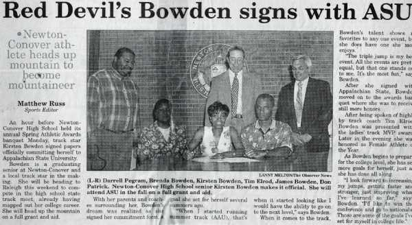 KIRSTEN BOWDEN SIGNS WITH ASU