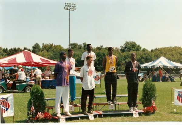 NATIONAL CHAMP 400M DASH NEIL BURCH