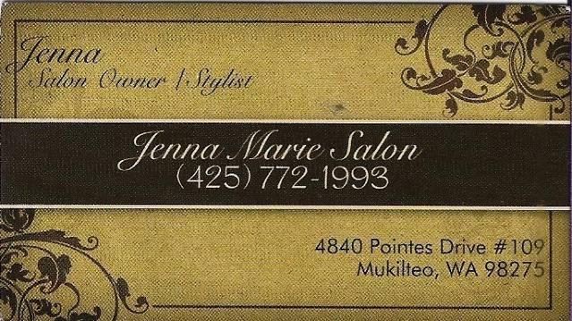 Jenna Marie Salon