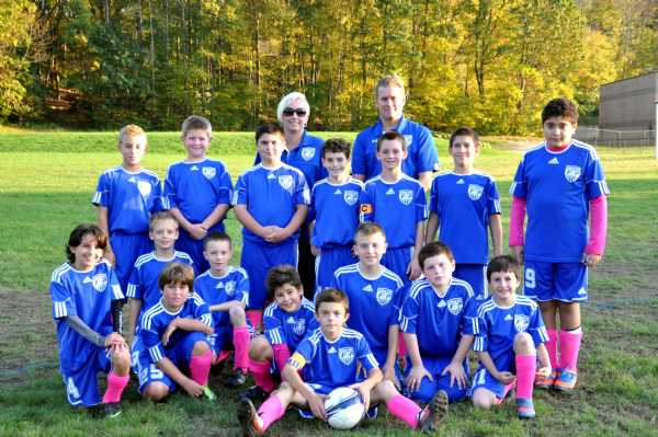 In recognition of Breast Cancer Awareness Month, U11 Fusion wears the PINK!!!