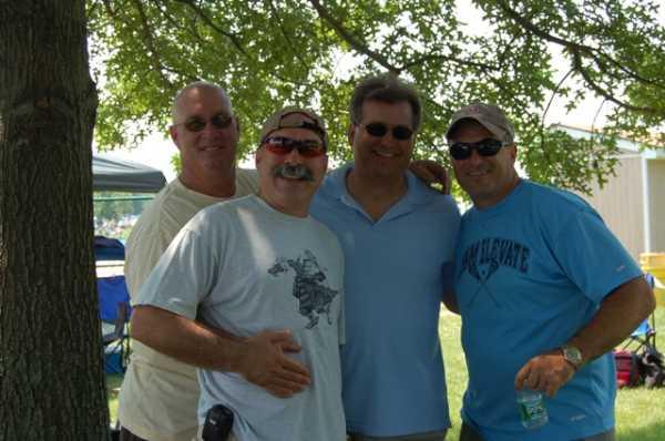 Bob, Rory, Dave & Fran