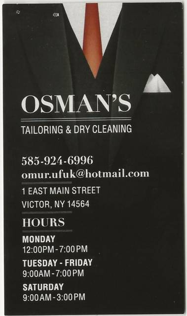Osman's Tailoring & Dry Cleaning