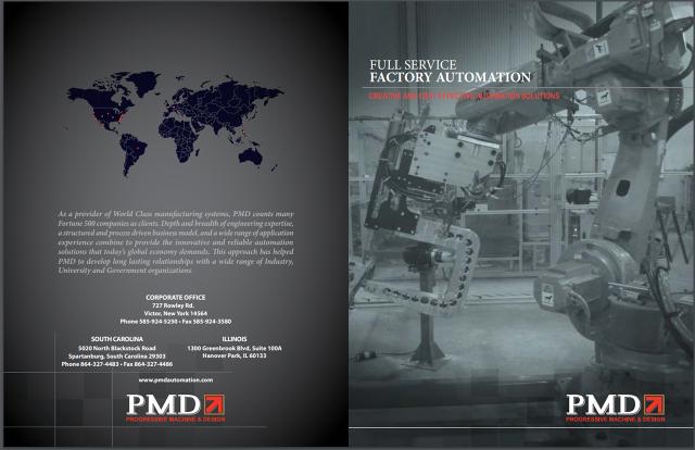PMD - Progressive Machine & Design