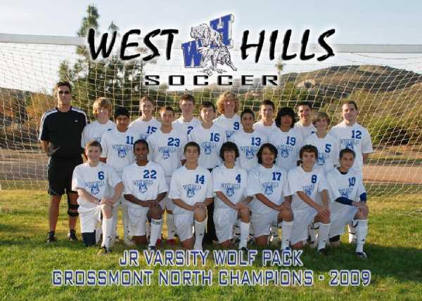 08-09 JV League Champions