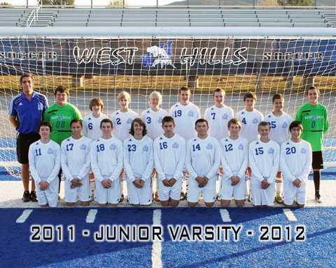 Junior Varsity 2011-2012