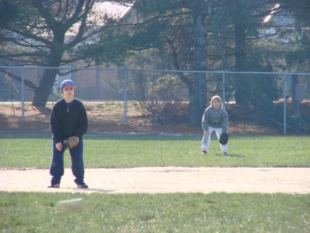 Little David Nelson leading the future generation of South Jersey MSBL players at Winterball 2010