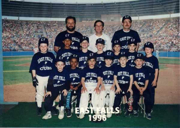 1996 Minor League Champions Cubs