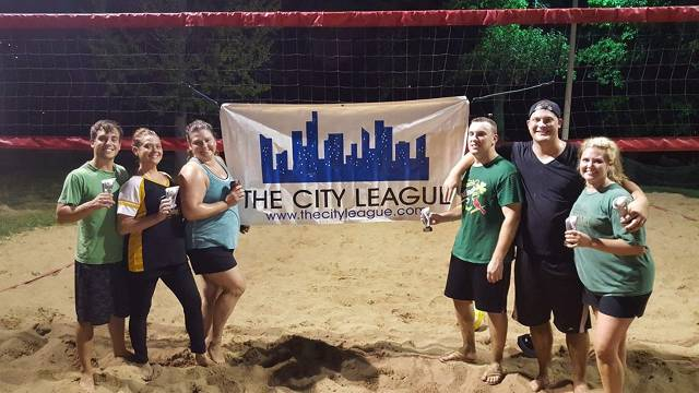 Summer 2016 Sand Volleyball Champions - Ace Holes