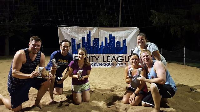 Spring 2016 Sand Volleyball Champions - Spandex Dreams