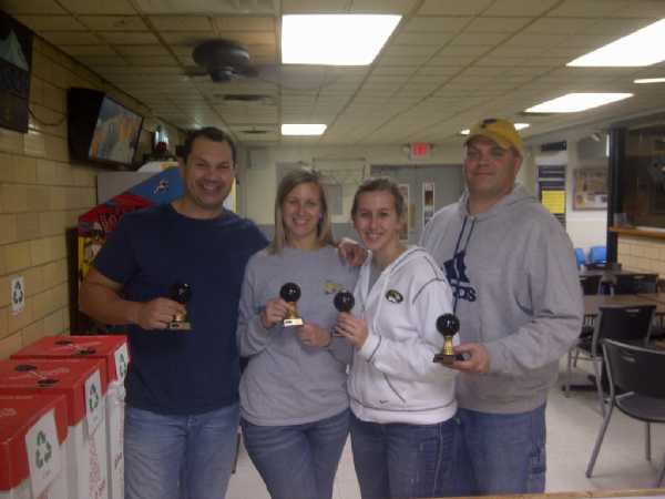 Fall Bowling 2011- 2012 Champs