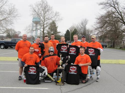2009/10 CSHL CHAMPIONS HAMBONES ZAMBONIES Missing from Photo- Jeff Donnelly