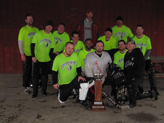 2013/14 CSHL CHAMPIONS- OUTSIDERS