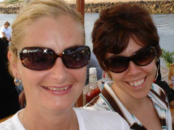 Grumpy's captains - Hollie & Debbie