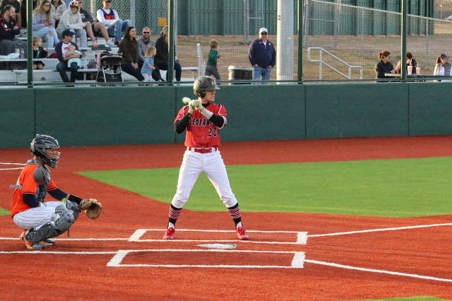 Logan Bowling ready to deliver 2 out RBI vs. McKinney North