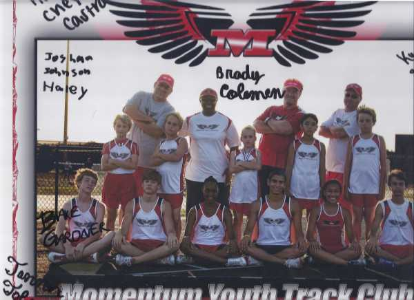 2011 Momentum Youth Track Club