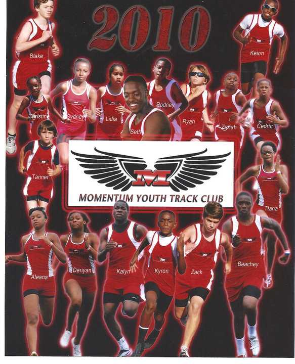 Momentum Youth Track Club 2010