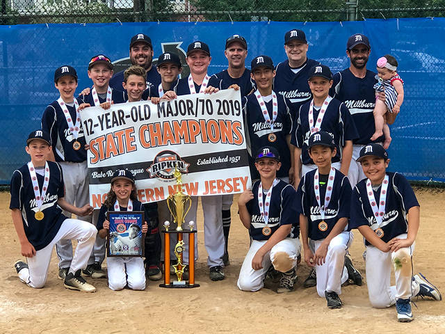 Westfield Cal Ripken 2019 District #12 & NNJ State 12u
