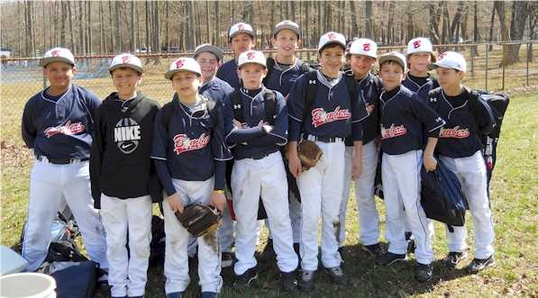 12U Bombers Red Sasso in Blue