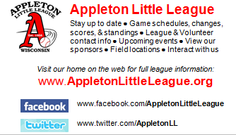 Appleton Little League Social Media Info Card
