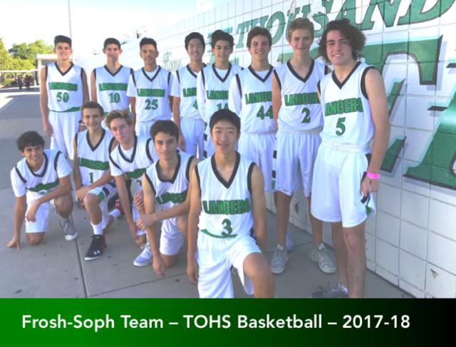 Soph-Frosh Team 2017-18 (Outside)