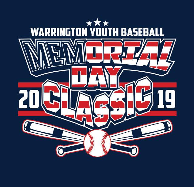 2019 WARRINGTON YOUTH BASEBALL MEMORIAL DAY CLASSIC - (Warrington