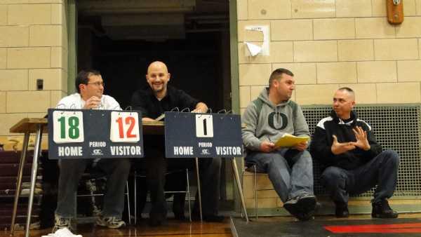 Happy Burlington table workers.