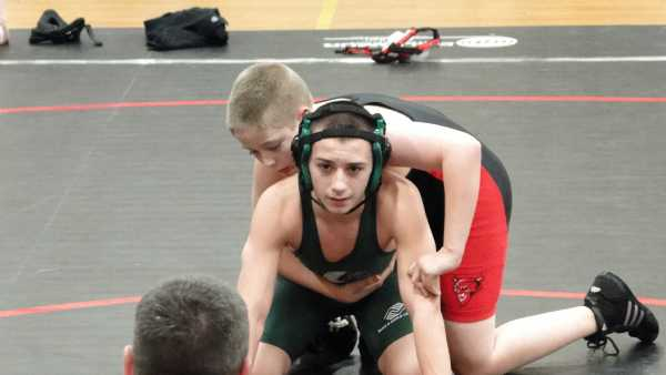 Josh Becker of Burlington vs Nick Ford of Billerica