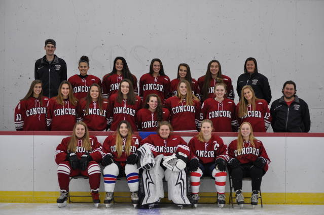Concord High School Girls Varsity Hockey Team - (Concord, NH