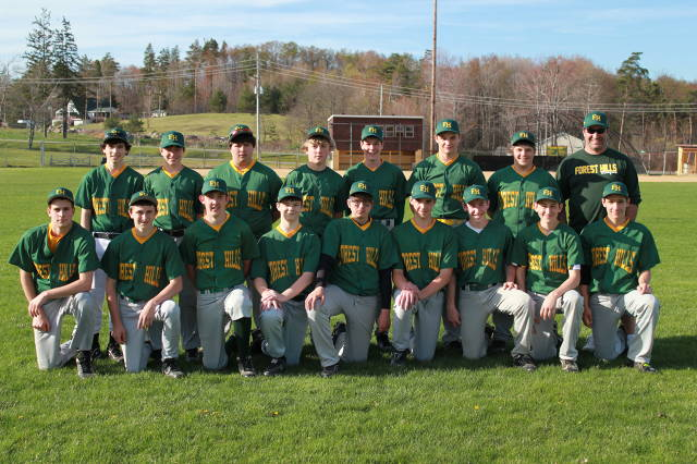 2013 Cambria Twp. Pony League Opening Day  Forest Hills-Gary's Custom Painting
